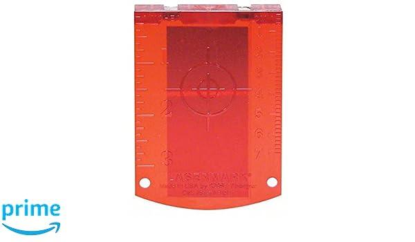 Laser Entfernungsmesser Reflektor : Bosch platte reflektor maßnahme rot amazon baumarkt