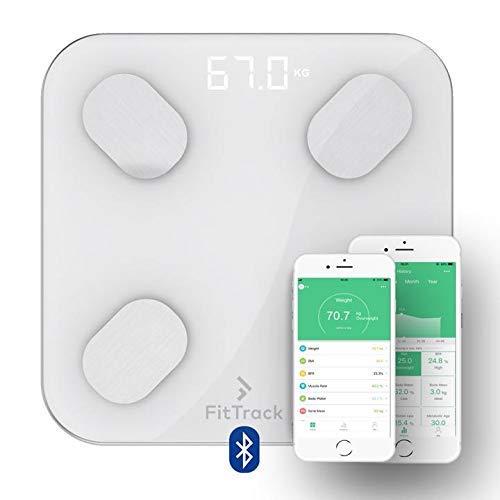 FitTrack - Balance Connectée avec Analyse de la Composition Corporelle + Application Gratuite