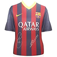2013-14 maglia di calcio Barcellona firmato da