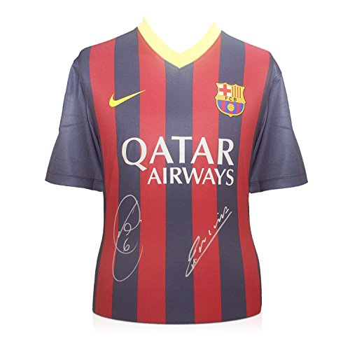 Xavi-Hernandez-And-Andres-Iniesta-Signed-2013-14-Barcelona-Football-Shirt