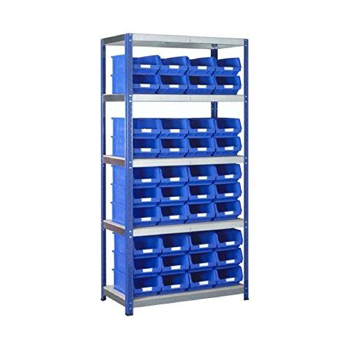 Bin Regalsystem (ECHTE 1x BSS blau Bin- und Standard-Regalsystem-Teilenummer sb63bu)