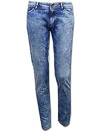 Adidas neo fashion pantalons jeanshosen denim jeans délavé pour femme, coupe près du corps