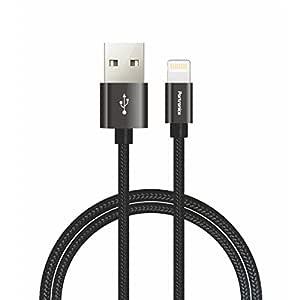 Portronics POR-792 Konnect Pro Data Cable - 3.9 Feet (1.2 Meters) (Black)