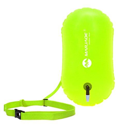 Schwimmenboje mit Umhängegurt Swim Boje Aufblasbarer Luftsack Für Schwimmen Open Water Sichtbarkeit im offenen Gewässer