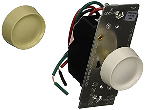 Leviton L00-06684-0IW Single Pole Lighted On/Off Rotary Dimmer by Leviton