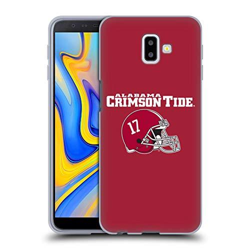 Head Case Designs Offizielle University of Alabama UA Helm Logo Typ Soft Gel Huelle kompatibel mit Samsung Galaxy J6 Plus (2018)