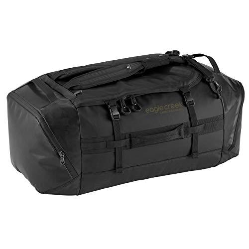 Eagle Creek Cargo Hauler Duffel Bag 90L, faltbare Reisetasche, aus abrieb- & wasserbeständigem TPU-Gewebe, großer Rucksack und Koffer in einem, Artic Blue, L -
