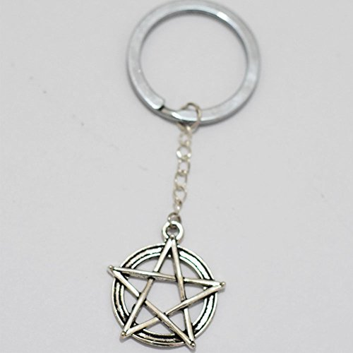 five-pointed-star-charm-llavero-gorgeous-llavero-mimi-llavero-five-pointed-star-charm-diario-clave-c