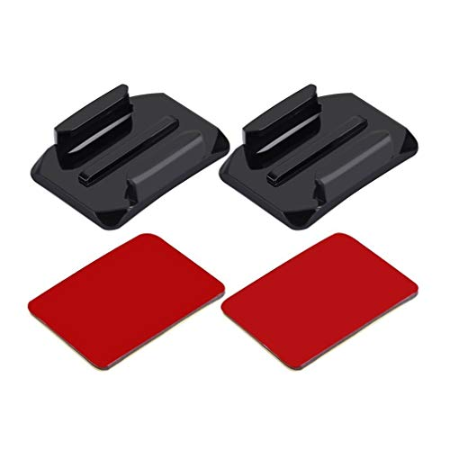 PULUZ PU11 2 Curved Surface Mounts With 2 Adhesive Mount Stickers For GoPro -