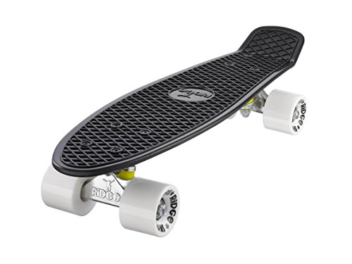 Ridge Mini Cruiser Skateboard, Nero