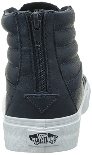 Vans Sk8-hi Reissue Zip Unisex-Erwachsene Sneaker Blau (premium Leather/dress Blues/true White)