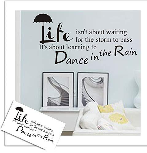 Tanzschirm Mode Dekoration Wandpapier Englisch Zitiert preis Wandaufkleber poster