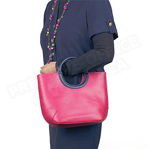 Mini Tasche Belle Ile Leder Herstellung Luxe Französische Schwarz - Schwarz