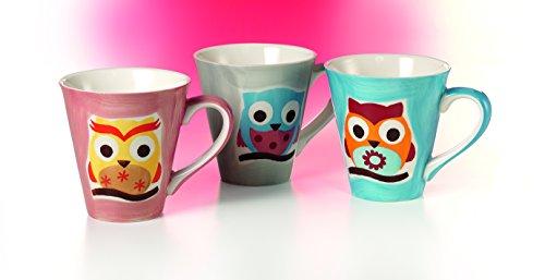 Drei verschiedene Teebecher