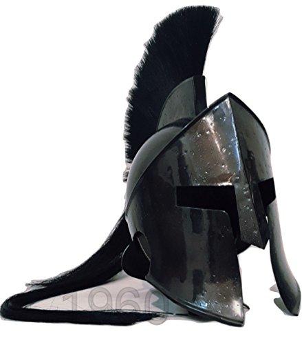 ANTIQUENAUTICAS 300 König Leonidas Spartan Helm Krieger Kostüm mittelalterlichen Helm Liner SCA Geschenk (Eishockey-helm-liner)