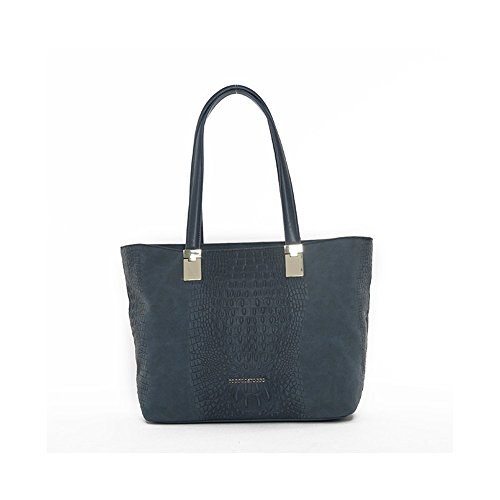 SHOPPING BAG ROCCOBAROCCO CORDELIA - ROBS1D204 AVION