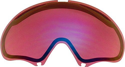 Lentes de repuesto para Oakley A FRAME2.0gafas para la nieve, Light Rose Mirror