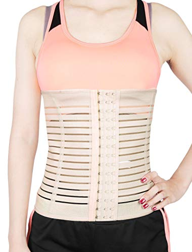 72561b089f2c1 ZCHXD Beige XXXL Size 4 Rows High Waist Breathable Postpartum Abdominal  Shaping Belt Belly Wrapping Shaper
