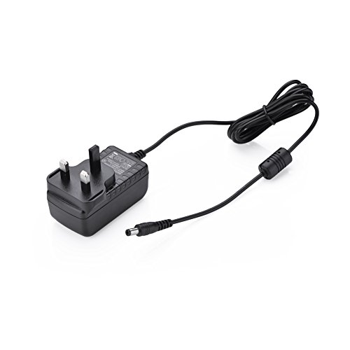 Price comparison product image UGREEN Power Supply Adapter,  AC Power Adapter 12V 2A Transformers Wall Charger DC Cable Length 1.5M with 5.5mm x 2.1mm DC Jack for Led Strips, CCTV, IP Camera