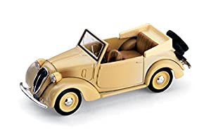 Brumm BM0085 Fiat 1100 (508C) Caballete Colonial 1937 Beige 1:43 Die Cast Mod.