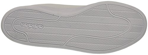 adidas Cloudfoam Advantage Clean, Scarpe da Ginnastica Uomo Bianco (Ftwwht/Ftwwht/Blue)