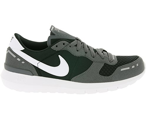 Sneaker Nike Air Vortex 17 in pelle e tessuto nero e grigio Grigio
