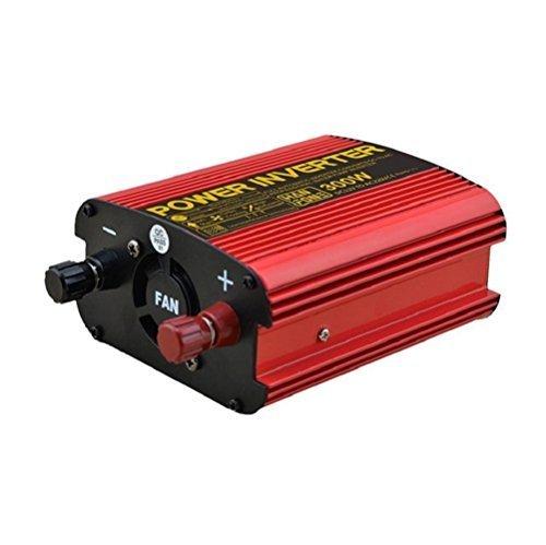 Auto Power Inverter DC 12V zu 220V AC Solar PV Konverter mit Zigarettenanzünder Adapter 300W? Rot? Wechselrichter