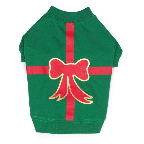 Casual Canine Hunde-T-Shirt, Polyester/Baumwolle, Größe XXS, 20,3 cm, Grün -