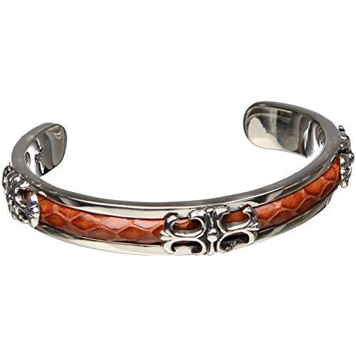 Bouddha to Light Handmade Argent Sterling Bracelet Biker croix Snake eie 259eur