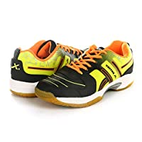 KD Vector Badminton Tennis Shoes Mens Indoor Court Training Shoe Racketball Squash Volleyball TT Non Marking Sneaker Shoes(CS 2000 Red,UK10)