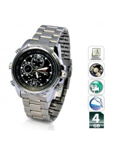 OG Wrist Watch Waterproof Camera Wrist Watch Video Camera 4GB Inbuilt Memory Card