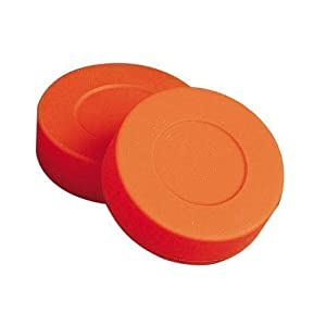 Unihoc Children Eishockey-Puck, Trainingspuck, Orange