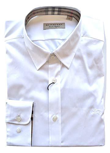 Burberry 3991159 39911591 White Herren Long Sleeved Shirt wei�
