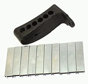 91/30 m44 Mosin Nagant Rubber Recoil Butt Pad with 10 Mosin Nagant Stripper clip