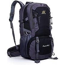 begrit 40litros mochila de senderismo para principiantes mochilero al aire libre Camping viaje