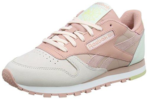 Reebok Damen Cn0361 Gymnastikschuhe, Pink (Pale Pinkshell Pnkchlk Pnkopalsulfurwht), 39 EU