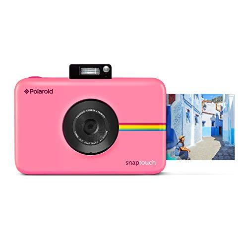 Polaroid snap touch - fotocamera digitale a stampa istantanea zink zero con schermo lcd, rosa