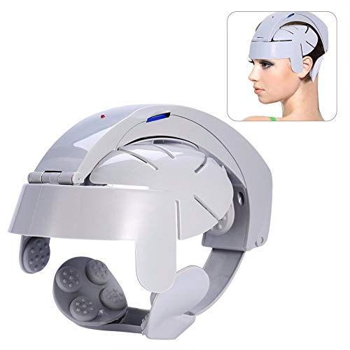 Preisvergleich Produktbild AHUO Kopf-Massager,  Kopfhaut-Massager-Kopfschmerzen-Schme... 8 Modelle manuelle Simulations-Knetmassage-Ermüdungs-En... für Familie und Reise, Europeanregulations