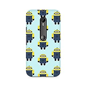 PRINTASTIC PR_217 Minion Love Design Printed Cusomised MOTO X STYLE Premium Back Case/Cover -Amazing colors & long lasting prints, High-resolution, Matte Finished and soft to touch, 3D Printed, Polycarbonate Material, Scratch resistant, Water resistant, Dust resistant, Fadeproof Mobile Hard Back Case/Covers