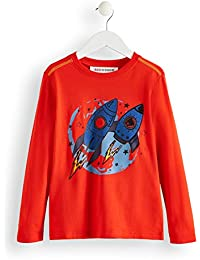 RED WAGON Jungen Pullover mit Comic-Print