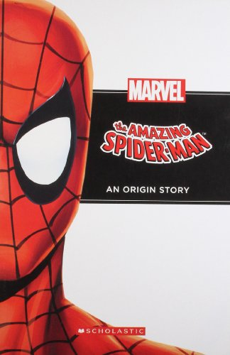 Spiderman An Origin Story book (Marvel)