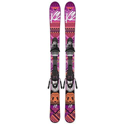 k2-luv-bug-fastrak-45-skis-avec-fixation-fille-rose-100