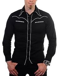 Banned–Camisa Classic Camiseta de Black White