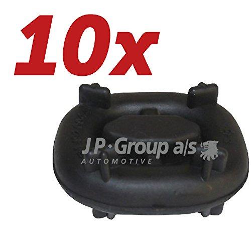 10x JP Group Halter, Schalldämpfer