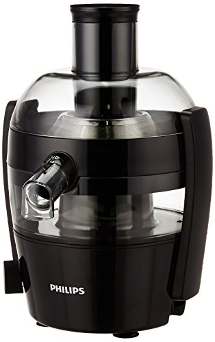 Philips Viva Collection HR1832/00 1.5-Litre Juicer, Ink Black