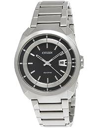 Citizen Herren-Armbanduhr XL Analog Quarz Edelstahl AW1010-57E