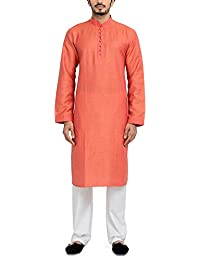 Manyavar Men's Blended Kurta & Pyjama Set (SDES204)