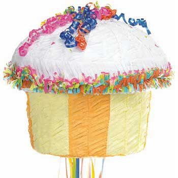 Pinata a tirer Cupcake