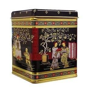 Boîte à thé japonais Noir