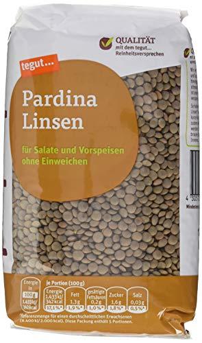 tegut... Pardina Linsen, 500 g